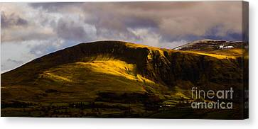 Sun Lit Clough Head Canvas Print by John Collier