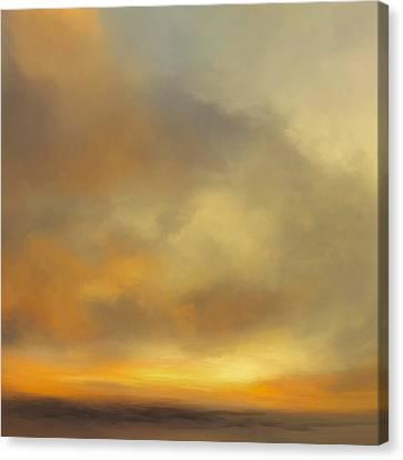 Sunburst Canvas Print by Lonnie Christopher
