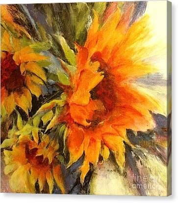 Sunburst Canvas Print by Madeleine Holzberg