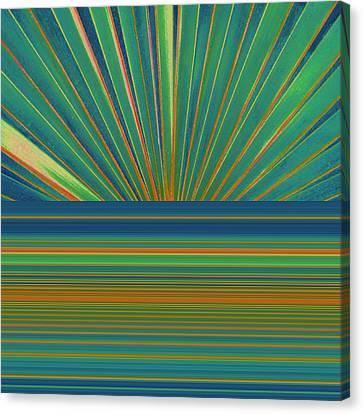 Sunburst Canvas Print by Michelle Calkins