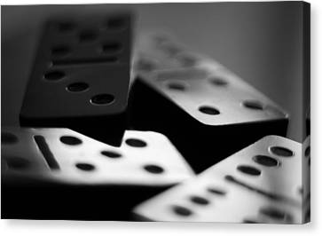 Sunday Dominoes Canvas Print by Sean Myers