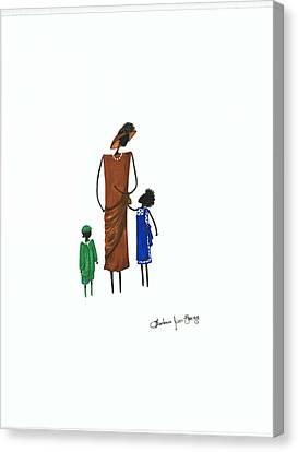 Sunday Morning Canvas Print by Bee Jay
