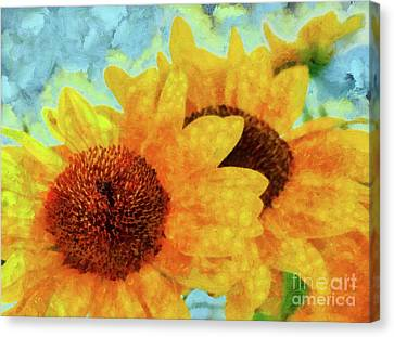 Sunflowers Canvas Print by Grigorios Moraitis
