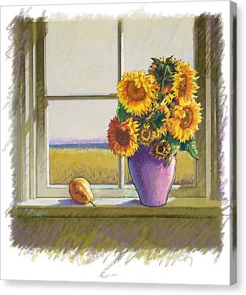 Sunflowers Canvas Print by Valer Ian