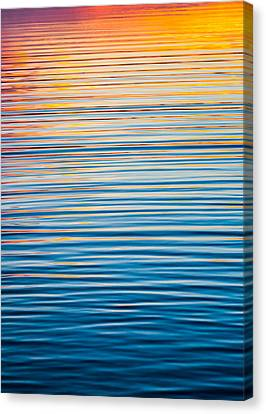 Sunrise Abstract  Canvas Print by Parker Cunningham