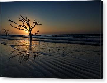 Sunrise At Botany Bay Canvas Print by Rick Berk