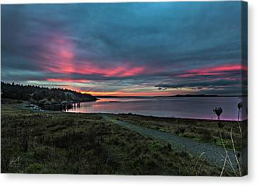 Sunrise At Jacksons Canvas Print by Thomas Ashcraft