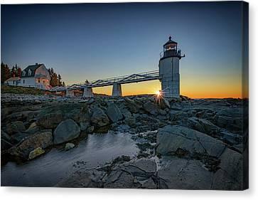 Sunrise At Marshall Point Canvas Print by Rick Berk