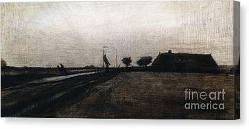 Sunrise Canvas Print by Vincent Van Gogh