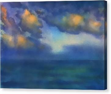 Sunset 2 Canvas Print by Valeriy Mavlo