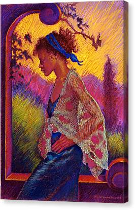 Sunset Canvas Print by Ellen Dreibelbis