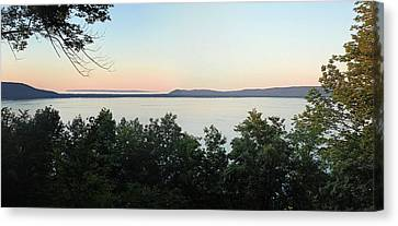 Sunset From Inspiration Point Canvas Print by Twenty Two North Photography