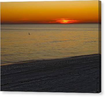 Sunset Number Thirty Seven Canvas Print by Sandwalker Photos
