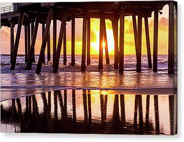 Sunset Canvas Print by Phong Trinh