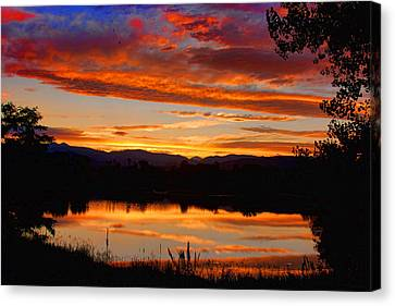 Sunset Reflections Canvas Print by James BO  Insogna