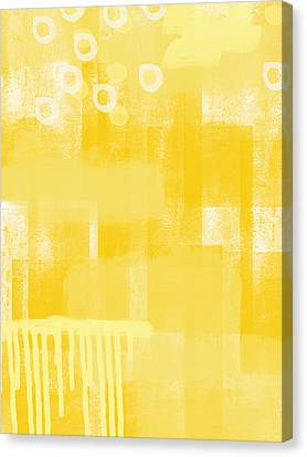 Sunshine- Abstract Art Canvas Print by Linda Woods