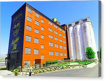 Sunshine Mill Winery The Dallas Oregon Canvas Print by Jeff Swan