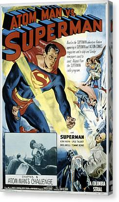Superman, Serial, Kirk Alyn, Chapter 6 Canvas Print by Everett