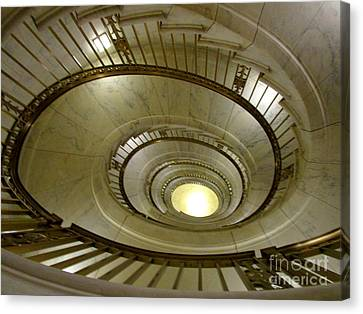 Supreme Spiral 1 Canvas Print by Randall Weidner