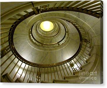Supreme Spiral 2 Canvas Print by Randall Weidner