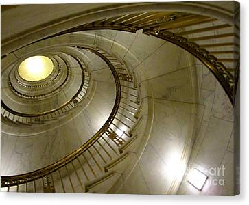 Supreme Spiral 3 Canvas Print by Randall Weidner