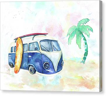 Surfin' Usa Canvas Print by Colleen Taylor