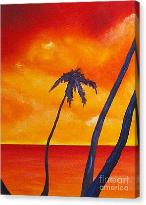 Surprise Sunrise Canvas Print by Joseph Palotas
