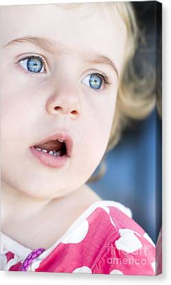 Surprised Child Canvas Print by Jorgo Photography - Wall Art Gallery