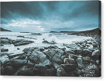 Suspenseful Seas Canvas Print by Jorgo Photography - Wall Art Gallery