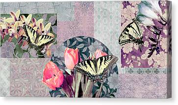 Swallowtail Butterfly 1 Canvas Print by JQ Licensing