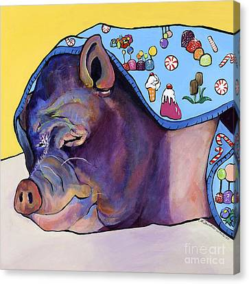 Sweet Dreams  Canvas Print by Pat Saunders-White