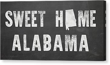 Sweet Home Alabama Canvas Print by Nancy Ingersoll