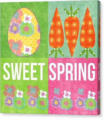 Sweet Spring Canvas Print by Linda Woods