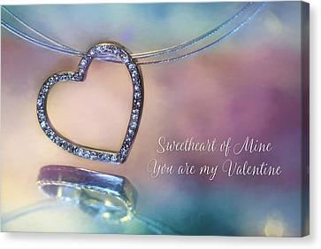 Sweetheart Of Mine Canvas Print by Lori Deiter