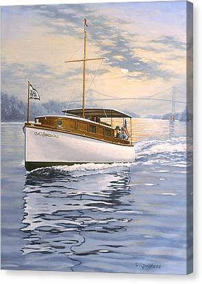 Swell Canvas Print by Richard De Wolfe