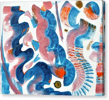 Swight Canvas Print by Sumit Mehndiratta