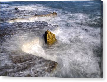 Swirly Water Canvas Print by Joana Kruse