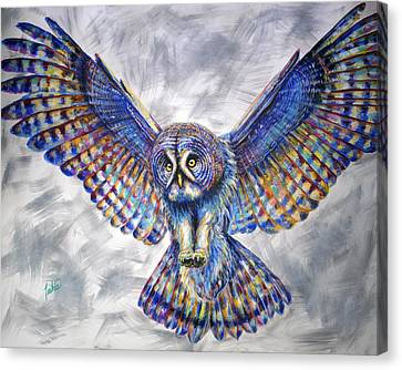 Swoop Canvas Print by Teshia Art