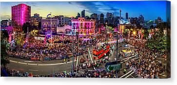 Sydney Gay And Lesbian Mardi Gras Parade Canvas Print by Az Jackson