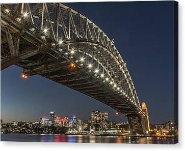 Sydney Harbour Bridge Canvas Print by Racheal Christian