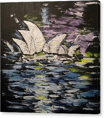 Sydney Opera House Canvas Print by Carmen Kolcsar