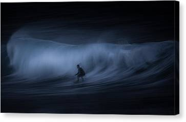 T E N S E Canvas Print by Toby Harriman
