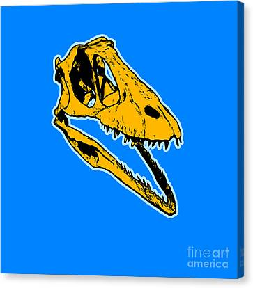 T-rex Graphic Canvas Print by Pixel  Chimp