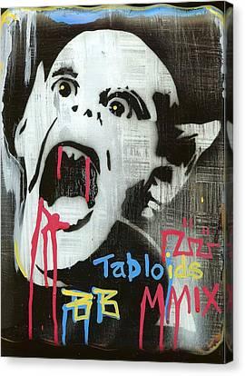 Tabloids Canvas Print by Robert Wolverton Jr