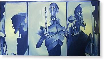 Tale Of The Three Brothers Canvas Print by Lisa Leeman