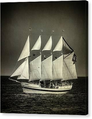 Tall Ship Canvas Print by Bob Nardi