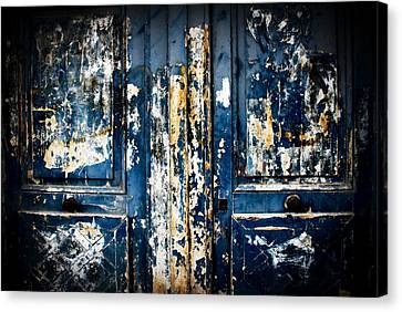 Tangled Up In Blue Canvas Print by Cabral Stock