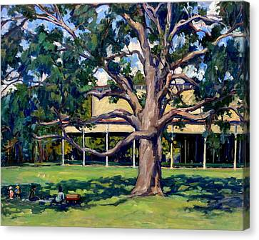 Tanglewood Before The Concert Canvas Print by Thor Wickstrom