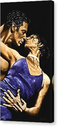 Tango Heat Canvas Print by Richard Young