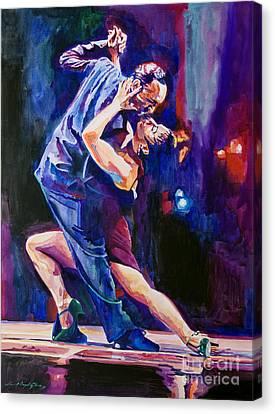 Tango Romantico Canvas Print by David Lloyd Glover
